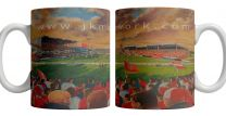 Craven Park Stadium Fine Art Ceramic Mug - Hull Kingston Rovers Rugby League Club
