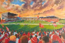Craven Park Stadium Fine Art Print Hull Kingston Rovers Rugby League Football Club