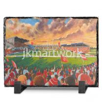 Craven Park Stadium Fine Art Slate Presentation - Hull Kingston Rovers Rugby League