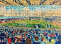 Dens Park Stadium Fine Art Jigsaw Puzzle - Dundee Football Club