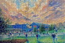 Dens Park Stadium Fine Art 'Going to the Match' Jigsaw Puzzle - Dundee Football Club