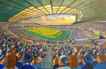 Murrayfield Stadium Fine Art Print - Scotland National Rugby Union