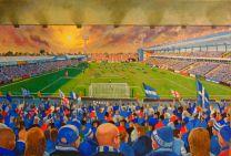 Priestfield Stadium Fine Art Print - Gillingham Football Club