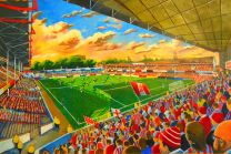 The Dell Stadium Fine Art Print - Southampton Football Club