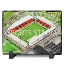 Tannadice Park Stadium Fine Art Slate Presentation - Dundee United Football Club
