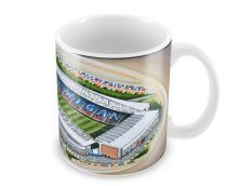 DW Stadia Fine Art Ceramic Mug - Wigan Athletic Football Club