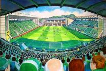 Easter Road Stadium Fine Art Print - Hibernian Football Club