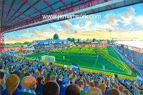 Edgeley Park Stadium Fine Art Print - Stockport County Football Club