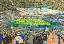 Elland Road Stadium Fine Art Jigsaw Puzzle - Leeds United Football Club