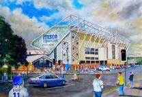 Elland Road Stadium Fine Art Print - Leeds United Football Club