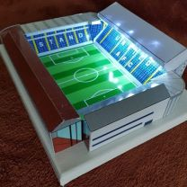 Elland Road Stadium Handmade Model - Leeds United Football Club