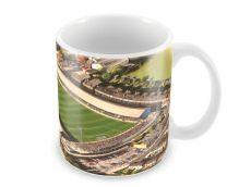 Elm Park Stadia Fine Art Ceramic Mug - Reading Football Club