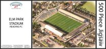 Elm Park Stadia Fine Art Jigsaw Puzzle - Reading Football Club