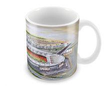Emirates Stadia Fine Art Ceramic Mug - Arsenal Football Club