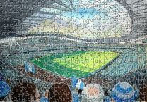 Etihad Stadium Fine Art Jigsaw Puzzle - Manchester City Football Club