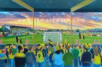 Eton Park Stadium Fine Art Print - Burton Albion Football Club