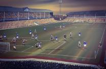 Goodison Park Stadium Fine Art Box Canvas Print '1966' - Everton Football Club