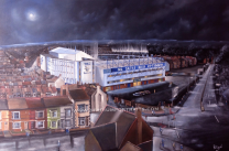 Goodison Park Stadium Fine Art Box Canvas Print 'Aerial View' - Everton Football Club