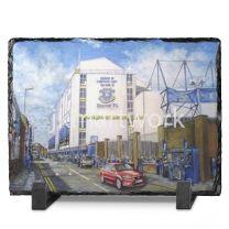 Goodison Park Stadium 'Going to the Match' Fine Art Slate Presentation - Everton Football Club