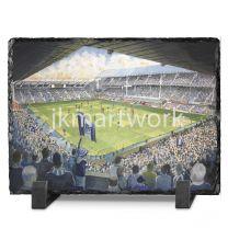 Goodison Park Stadium Fine Art Slate Presentation - Everton Football Club