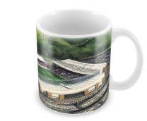 Ewood Park Stadia Fine Art Ceramic Mug - Blackburn Rovers Football Club