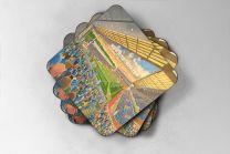 Ewood Park Stadium Fine Art Coasters Set - Blackburn Rovers Football Club