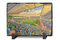 Ewood Park Stadium Fine Art Slate Presentation - Blackburn Rovers Football Club