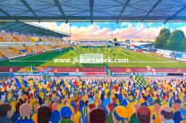 Field Mill Stadium Fine Art Print - Mansfield Town Football Club