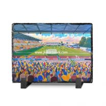 Field Mill Stadium Fine Art Slate Presentation - Mansfield Town Football Club