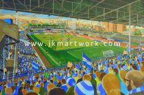 Filbert Street Stadium Fine Art Print - Leicester City Football Club