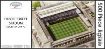 Filbert Street Stadia Fine Art Jigsaw Puzzle - Leicester City Football Club
