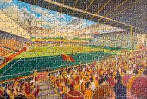 Fir Park Stadium Fine Art Jigsaw Puzzle - Motherwell Football Club