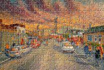Fir Park(Going to the Match) Stadium Fine Art Jigsaw Puzzle - Motherwell Football Club