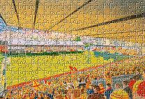 Firhill Stadium Fine Art Jigsaw Puzzle - Partick Thistle Football Club