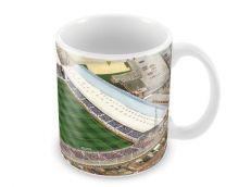 Fratton Park Stadia Fine Art Ceramic Mug - Portsmouth Football Club