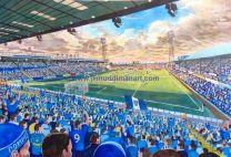 Fratton Park Stadium Fine Art Print - Portsmouth Football Club
