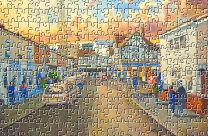 Fratton Park(Going to the Match) Stadium Fine Art Jigsaw Puzzle - Portsmouth Football Club