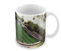 Gay Meadow Stadia Fine Art Ceramic Mug - Shrewsbury Town Football Club