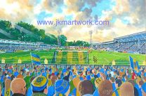 Gay Meadow Stadium Fine Art Print - Shrewsbury Town Football Club