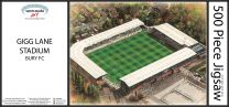 Gigg Lane Stadia Fine Art Jigsaw Puzzle - Bury Football Club