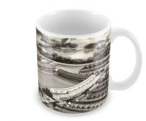 Goodison Park Stadia Fine Art Ceramic Mug - Everton Football Club
