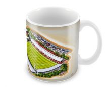 Griffin Park Stadia Fine Art Ceramic Mug - Brentford Football Club