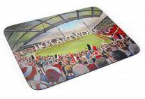 Griffin Park Stadium Fine Art Mouse Mat - Brentford Football Club
