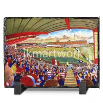 New Douglas Park Stadium Fine Art Slate Presentation - Hamilton Academical Football Club