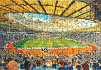 Hampden Park Stadium Fine Art Jigsaw Puzzle - Scotland National Football