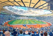 Hampden Park Stadium Fine Art Print - Scotland National Football Team