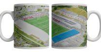 The Stoop Stadium Fine Art Ceramic Mug - Harlequins Rugby Union Club