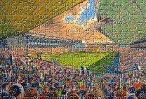 The Hawthorns Stadium Fine Art Jigsaw Puzzle - West Bromwich Albion Football Club