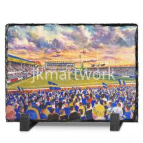 Headingley Carnagie Stadium Fine Art Slate Presentation - Leeds Rhinos Rugby League