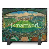 Easter Road Stadium Fine Art Slate Presentation - Hibernian Football Club